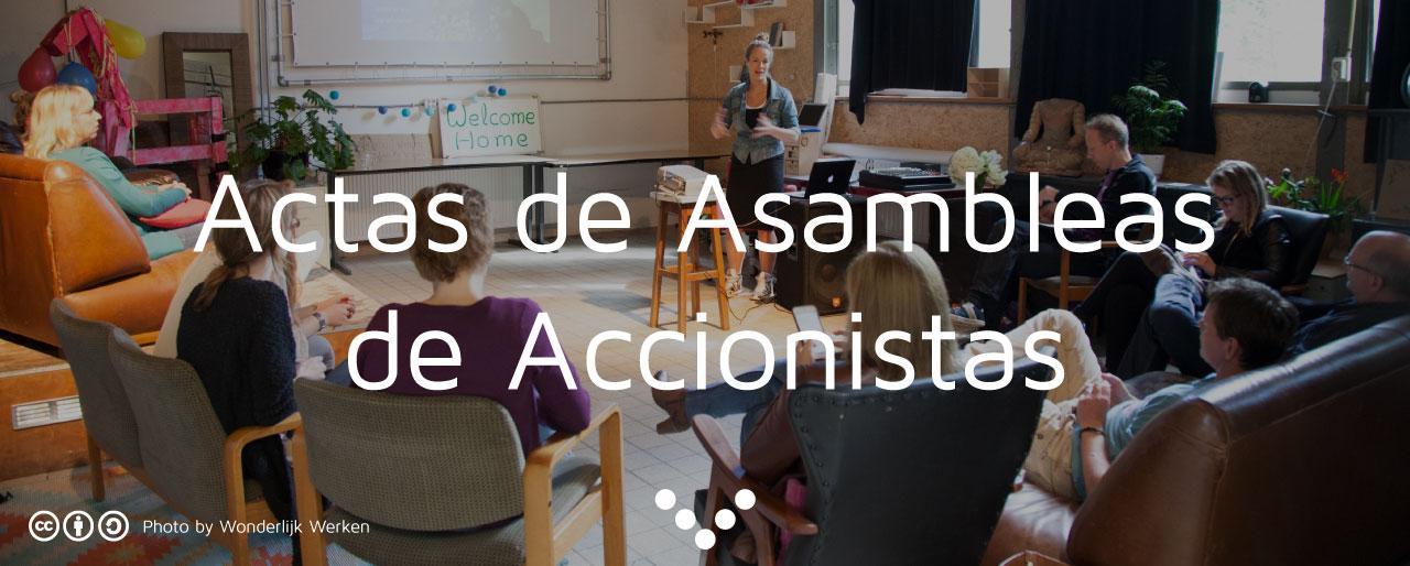Acta de Asamblea de Accionistas
