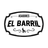 Logo asadores el barril